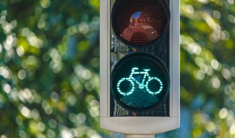Proef fietsstoplichten met warmtesensor is succes