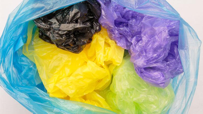 Verbod op plastic tasjes groot succes