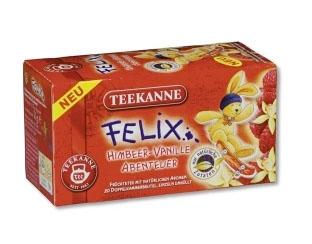 Geen framboos in de thee? Dan ook niet op de verpakking