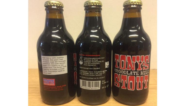 Opgelet: instabiel Tony's Chocolate-bier teruggeroepen