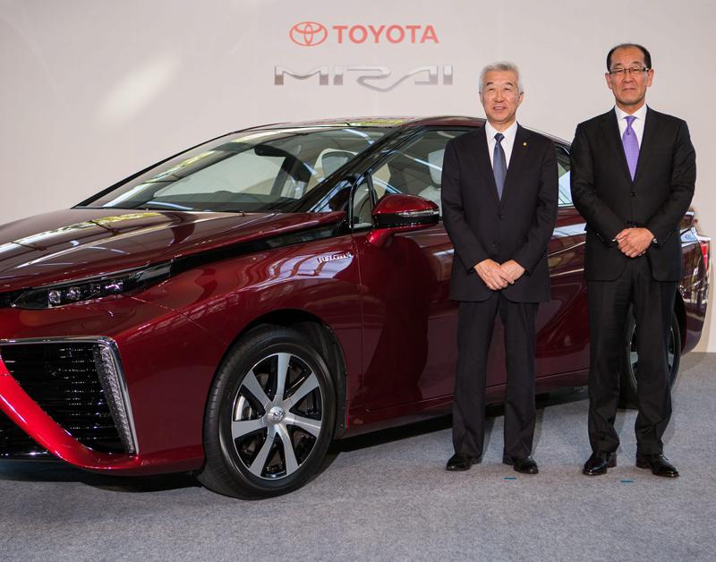 Toyota wil uitstoot 90 procent terugdringen