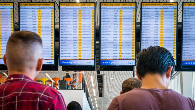 Vlucht gemist door treinvertraging: recht op vergoeding?