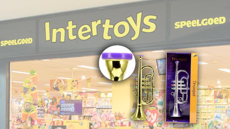 Speelgoedtrompet van Toi-Toys niet veilig voor kleine kinderen