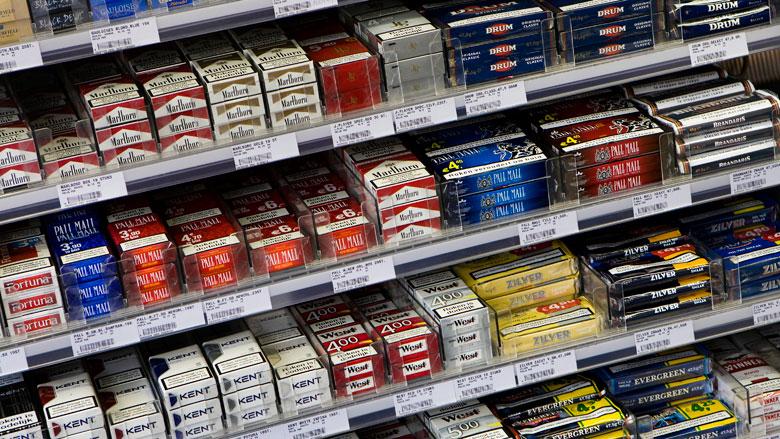 Binnen 5 jaar is tabak niet meer zichtbaar in de schappen