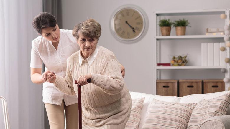 'Boete' voor vallende oudere