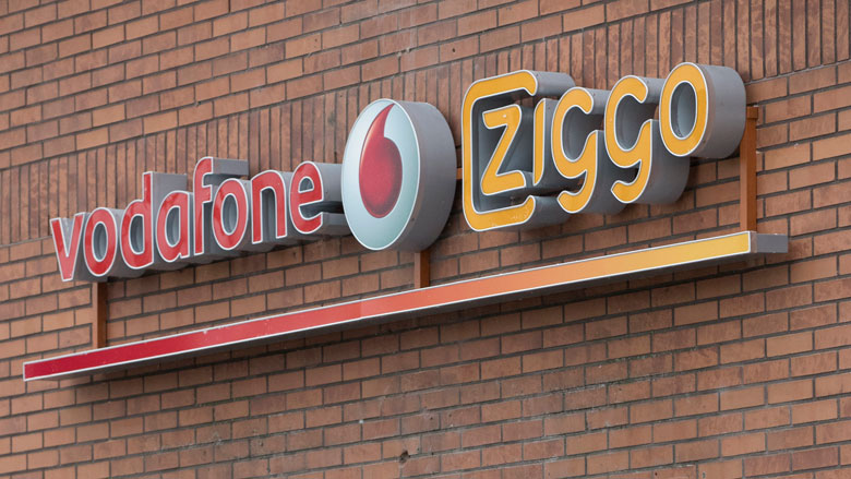 Klantenbestand VodafoneZiggo krimpt