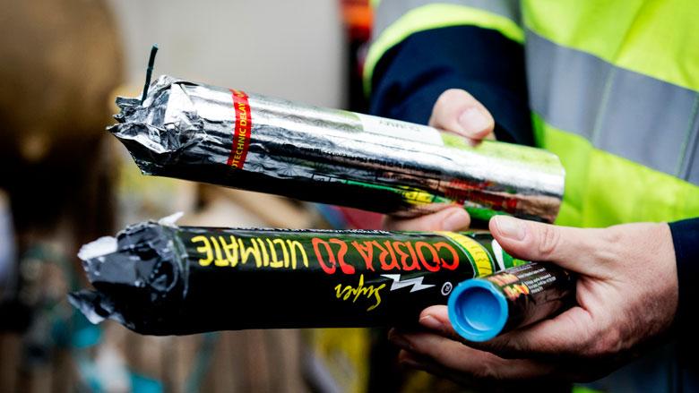 Politie pleit voor verbod op knalvuurwerk en vuurpijlen