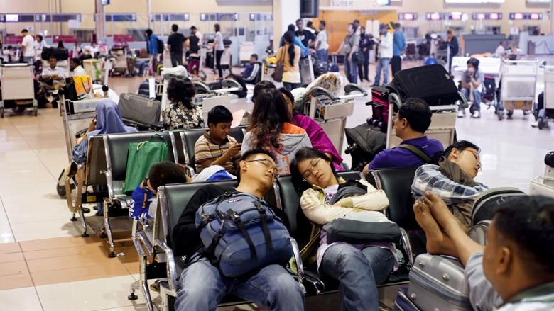 Aantal vertraagde en geannuleerde vluchten verminderd