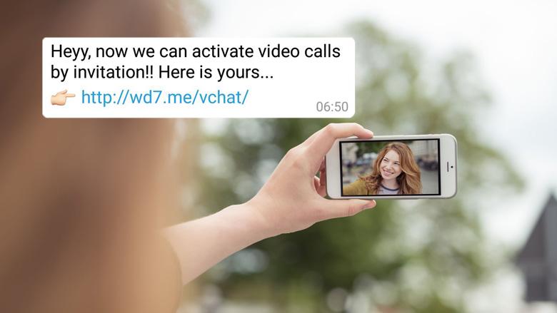 Let op! Vals bericht over activeren WhatsApp-videobellen