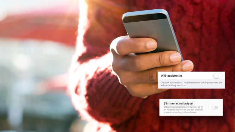Pas op voor hoge telefoonrekening door wifi-functie