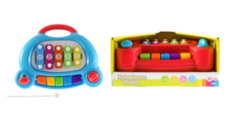 Verstikkingsgevaar bij Xylophone-Piano van Toi-Toys