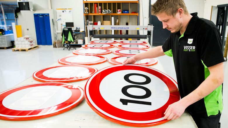 Verlaging maximumsnelheid in maart 2020