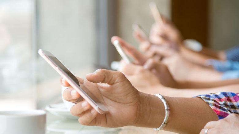 Gebruik 4G-internet ruim tien keer zo veel als vijf jaar terug