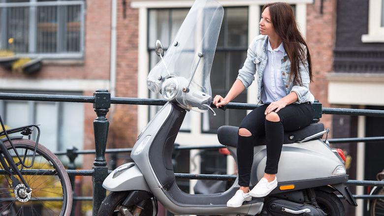 Schadevrije jaren op de scooter