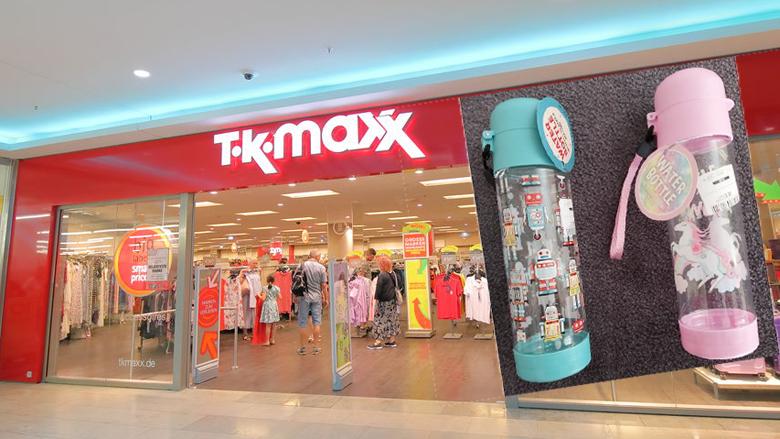 Drinkflessen van TK Maxx teruggeroepen wegens verstikkingsgevaar