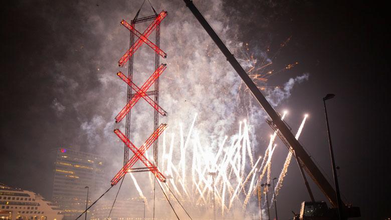 Onvoldoende belangstelling centrale vuurwerkshow Amsterdam