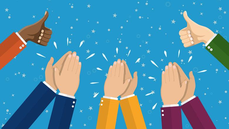 Sociale media organiseert massaal applaus voor de zorg