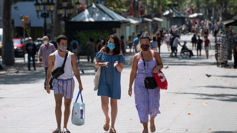 Mogelijk geen repatriëring nodig voor vakantiegangers Barcelona