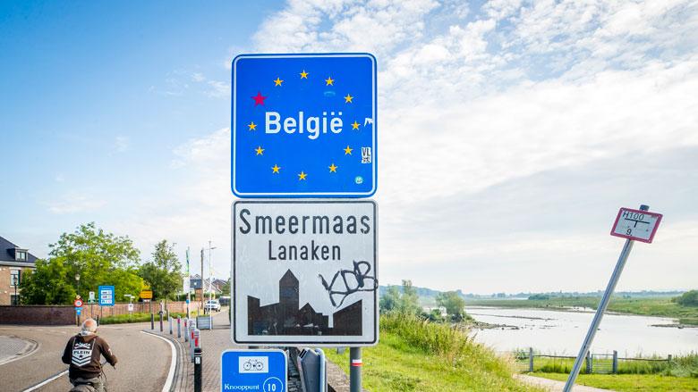 Grens België-Nederland zal in vervolg niet sluiten wegens (corona)virus