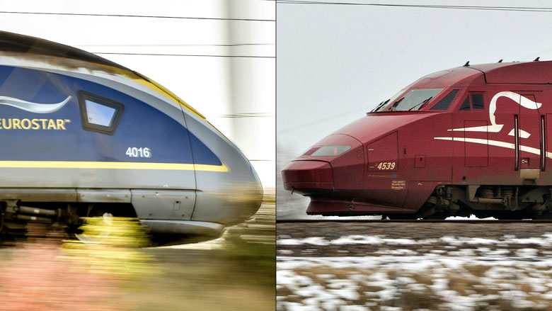 Spoorvervoerders Eurostar en Thalys gaan fuseren