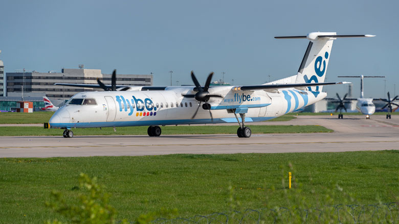Vliegmaatschappij Flybe is failliet