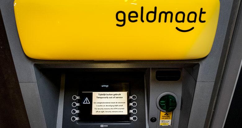 'Geldautomaten mogelijk 's nachts weer open'