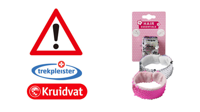 Kruidvat en Trekpleister roepen accessoire van Hair Essentials terug