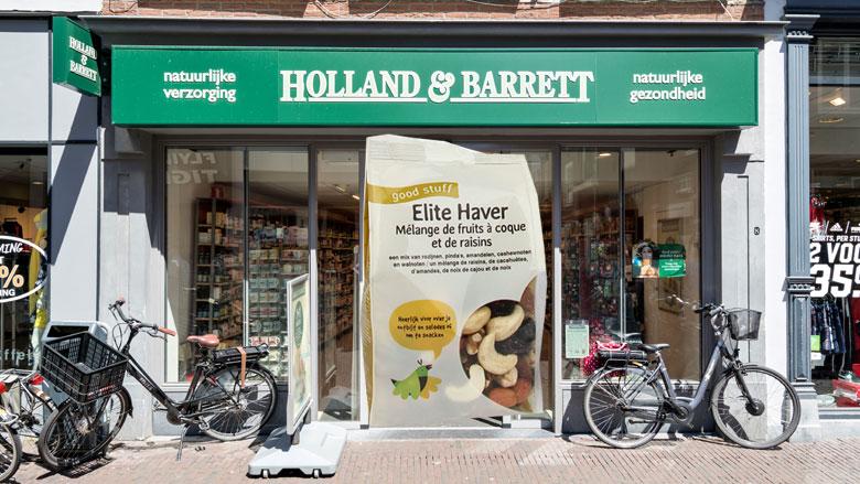 Terugroepactie: mogelijk salmonella in studentenhaver Holland & Barrett