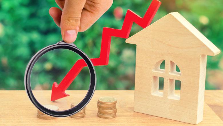 Mogelijke daling van huizenprijzen door coronacrisis