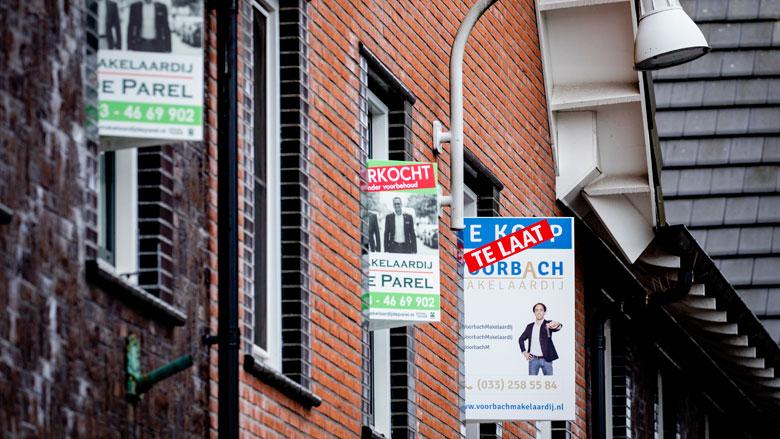 'Woningwaarde stijgt met 4 procent'