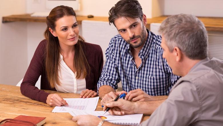 Hypotheekrente voor het eerst onder de 1 procent