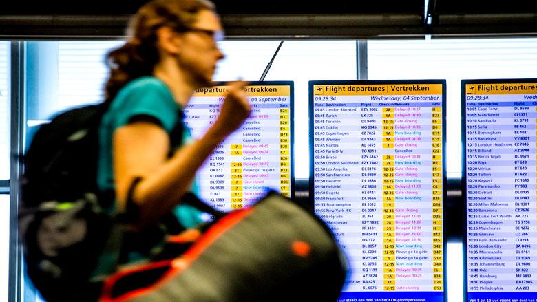 Grondpersoneel KLM staakt zondag weer voor een betere cao