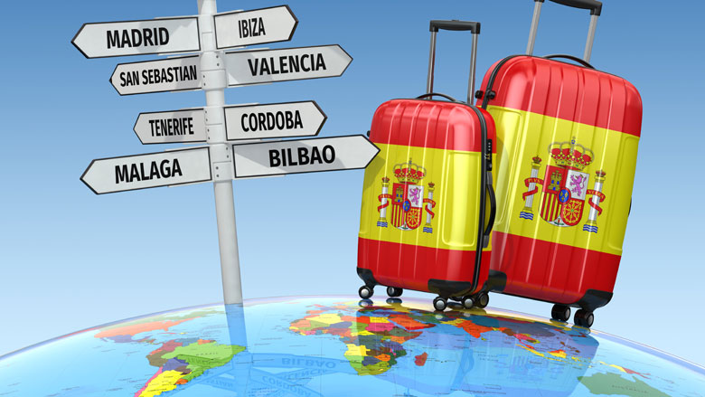 Spanje opent grenzen voor toeristen op 1 juli