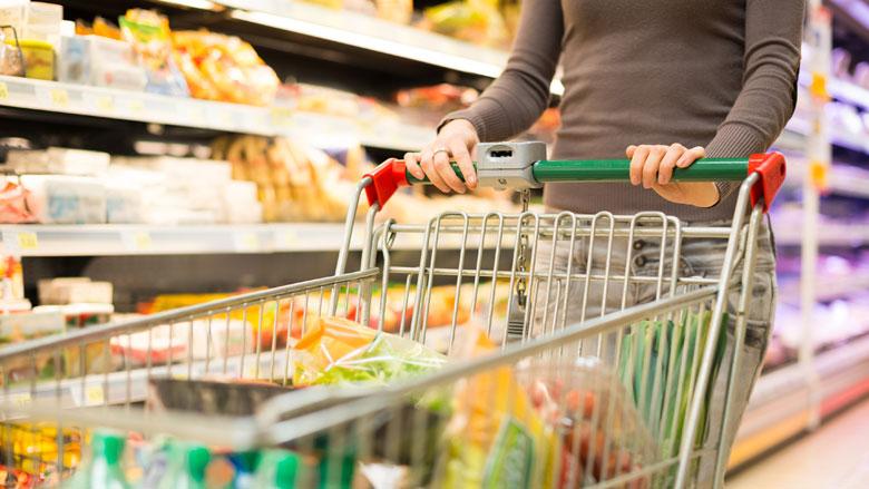 Drukte in supermarkten neemt af