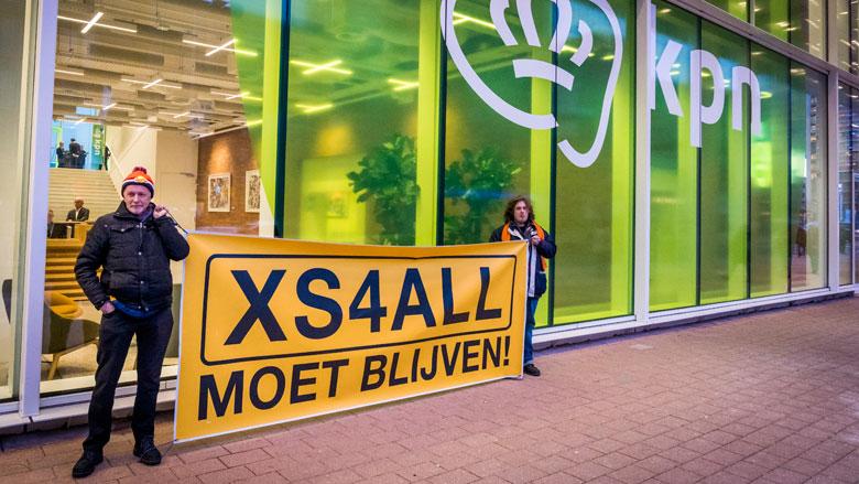 Actiecomité XS4ALL start mogelijk een nieuw bedrijf