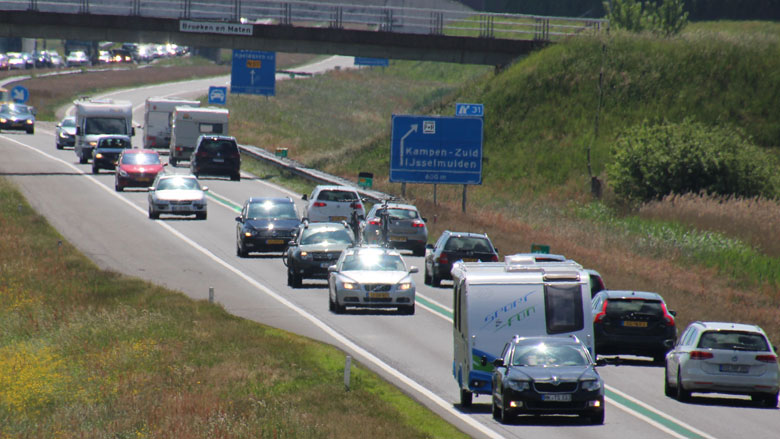 Automobilist komend jaar fors langer in de file
