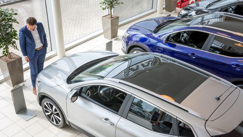 Verkoop personenauto's eerste half jaar flink gedaald
