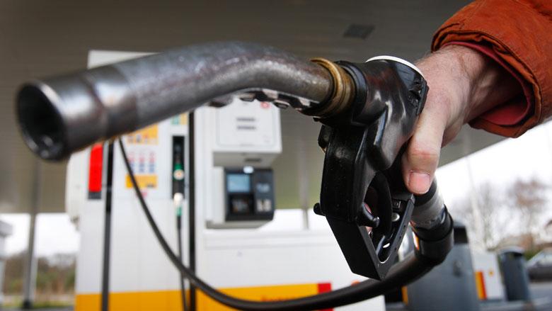 Benzineprijs gestegen met bijna 18 cent in eerste kwartaal