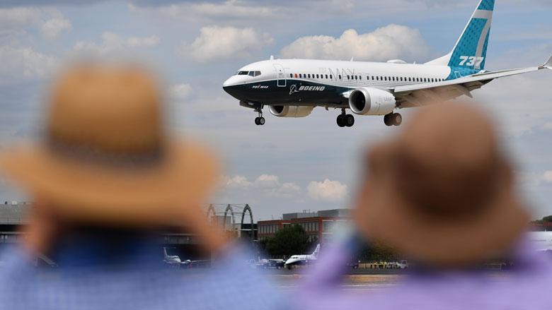 Boeing 737 MAX blijft in Groot Brittanië aan de grond