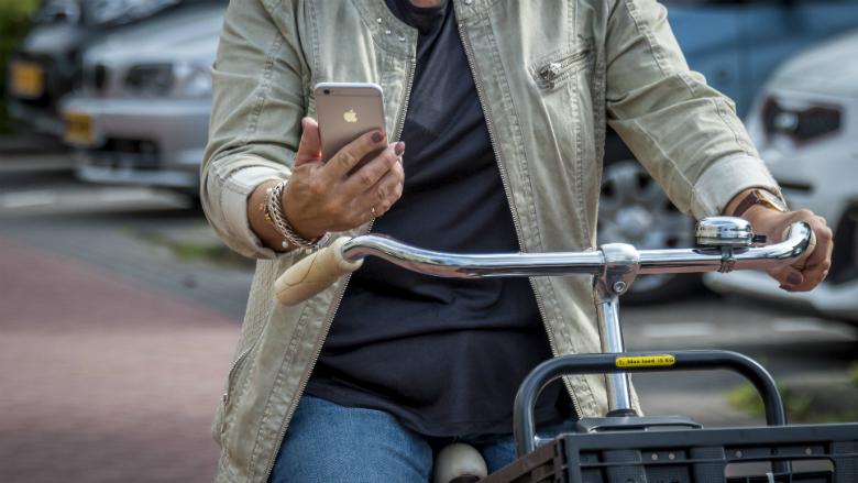 Campagne over gevaar appen in het verkeer