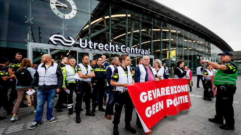 Politie rukt door cao-actie alleen uit bij grote nood