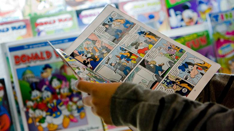 Drukkerij van Donald Duck en Libelle in financiële problemen