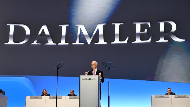 Daimler moet 60.000 auto's terugroepen om sjoemelsoftware
