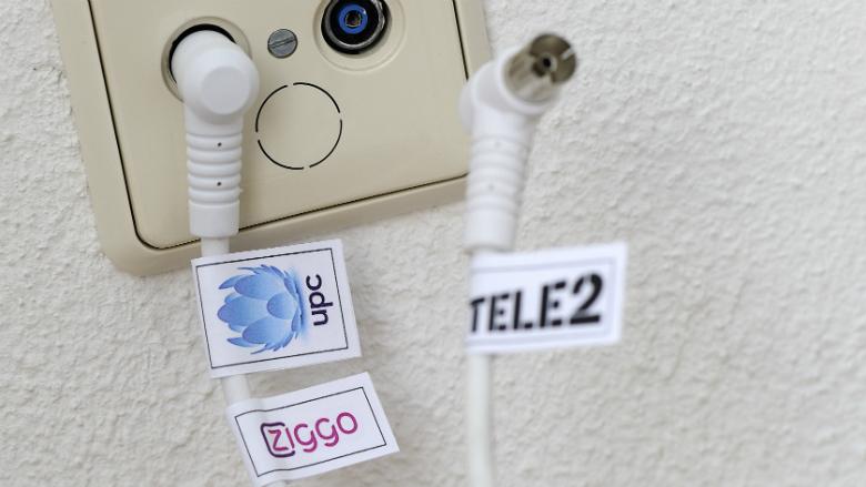 Aantal tv-aansluitingen gedaald