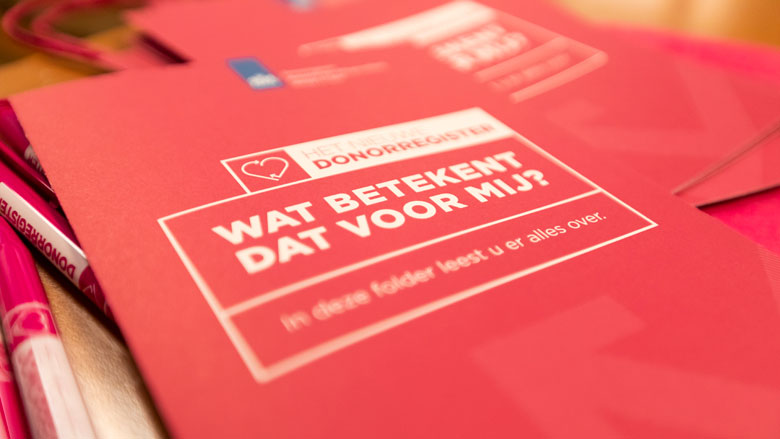 Bijna 7 miljoen Nederlanders geven donorkeuze door