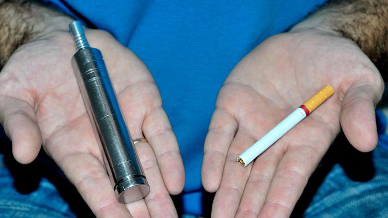 Positief over e-sigaret als stophulp, maar ook veel zorgen om gezondheid