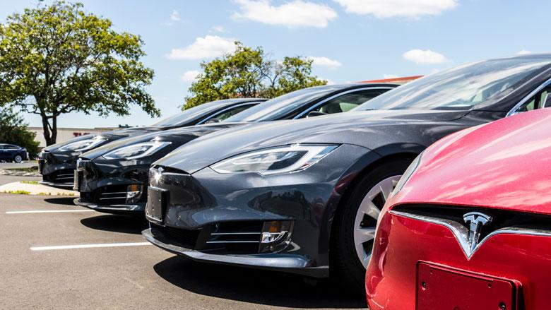 Elektrische Auto Duur Avontuur Voor Automaker Radar Het