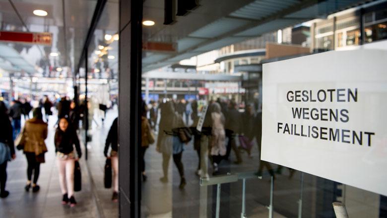 Verwachting: 10% meer bedrijven failliet in 2019