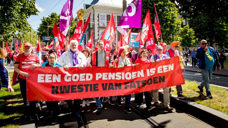 Actiegroepen FNV: nieuw pensioenakkoord is onvoldoende