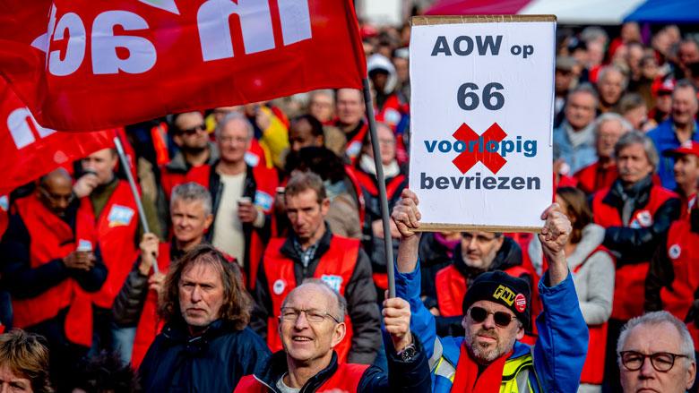 FNV geeft kabinet nog 7 weken voor pensioendossier